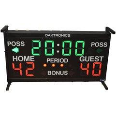 Basketball Scoreboard from Daktronics