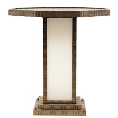 Octagonal Art Deco Table