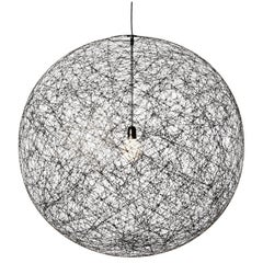 Moooi Random LED Light Fixture in Black, Sizes Small, Medium or Large