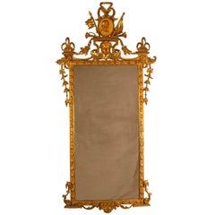 Giltwood Neoclassical Italian Mirror, circa 1810