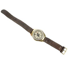 Wrist Compass Designed by Nordis Made in England of the 1940s