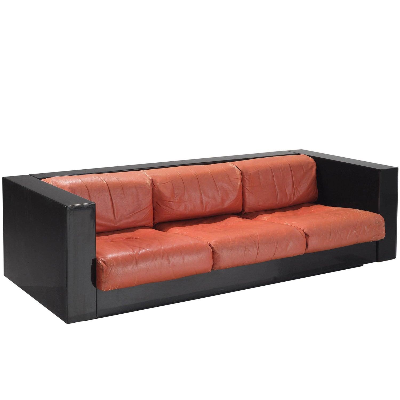 "Sofa ""Califfo"" by Ettore Sottsass, Poltronova, Italy, 1959 For ... for Ettore Sottsass Sofa  45gtk"