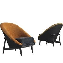 Pair of Theo Ruth for Artifort Armchairs