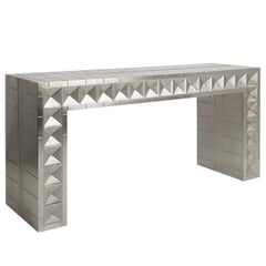 Talitha Nickel Waterfall Console