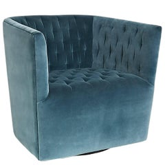 Vertigo Tufted Swivel Chair