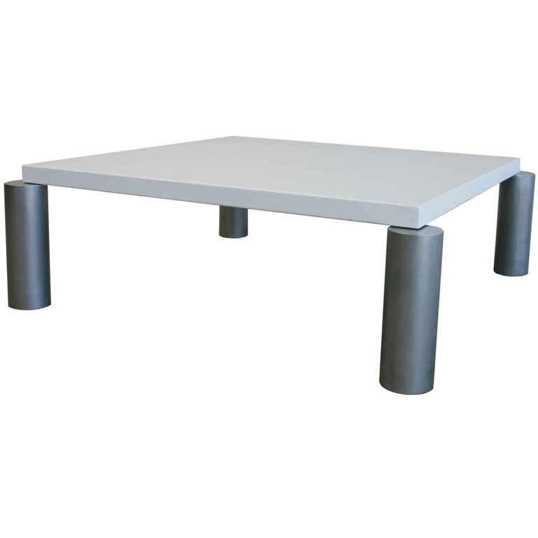 Industrial modern coffee table for sale at 1stdibs for Modern coffee table for sale