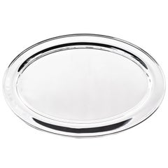 Oval Tray by Manchester