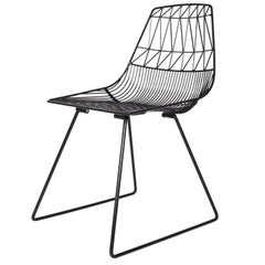 Modern, Wire Lucy Dining Chair by Bend Goods