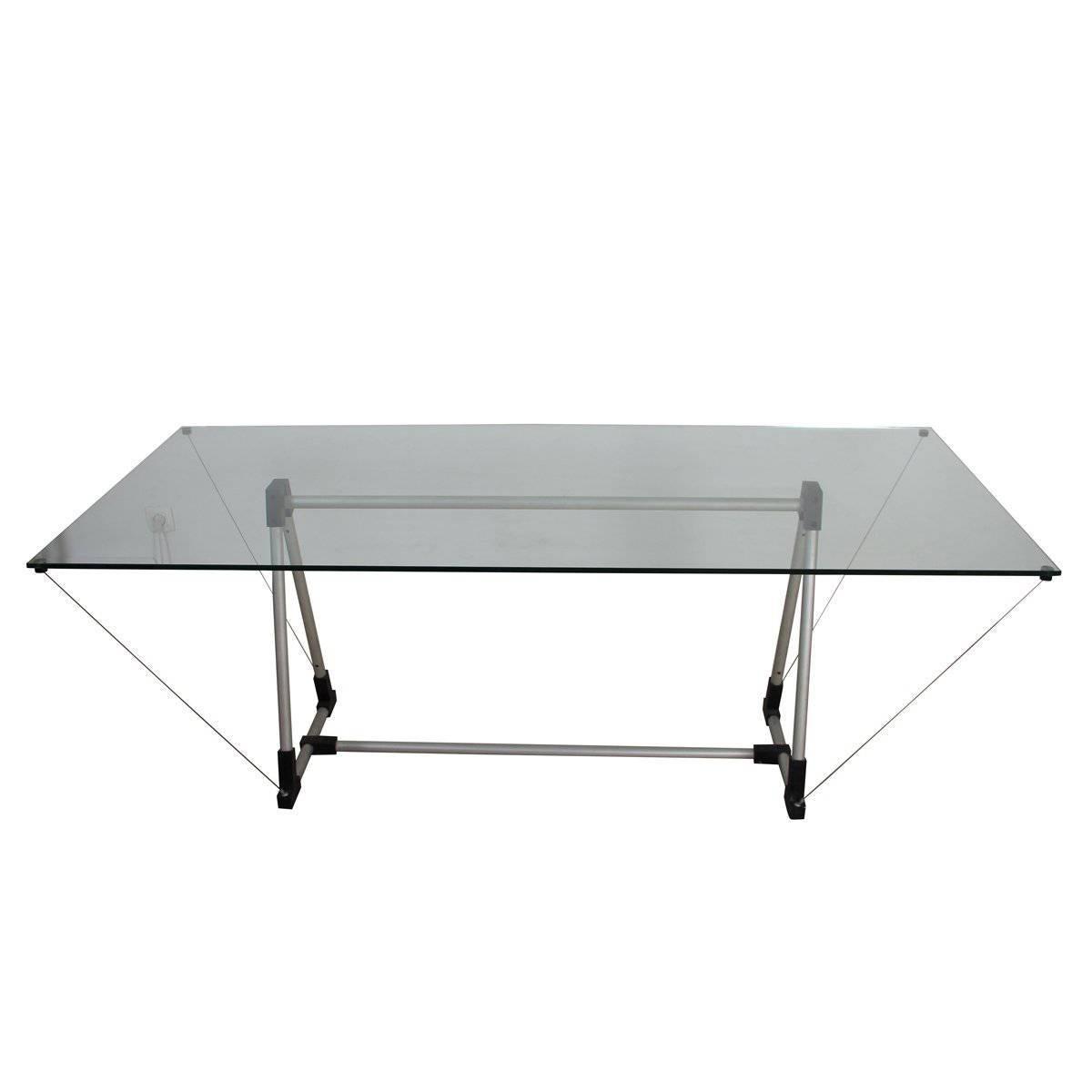 Fontana arte glass table for sale at 1stdibs