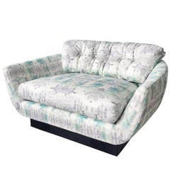 Eskayel, Clairmont, Sea Vintage Oversized Loveseat, Chair