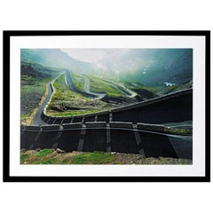 "Claudio Bader, ""Stelvio"", Contemporary Photography Framed Print"