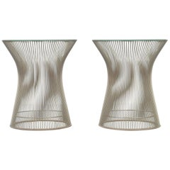 Pair of Warren Platner Side or End Tables