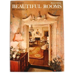 """100 Most Beautiful Rooms in America"" Book by Helen Comstock"