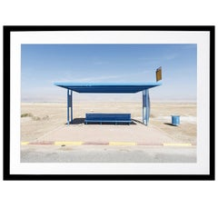 Claudio Bader, 'Dead Sea Station', Contemporary Photography Framed Print
