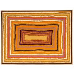 Sam Tjampitjin 'Australian Aborigine, 1930-2007' Acrylic on Artist Board