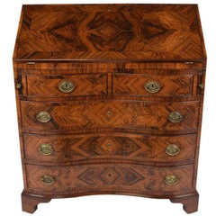 Early 20th Century Regency-Style Rosewood Secretaire