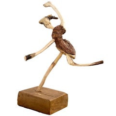 Wooden Ballerina by Cícero Rodrigues