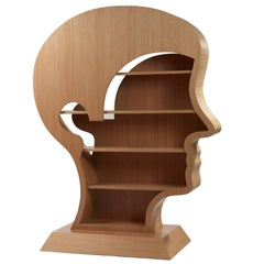 Library Head by Nicola L.  In stock.