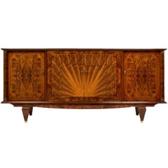 Art Deco Period Burled Buffet