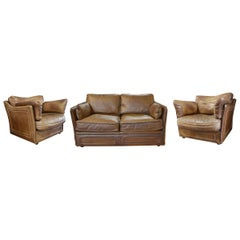 Arcon Leather Suite