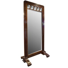 French Art Nouveau Dressing Mirror