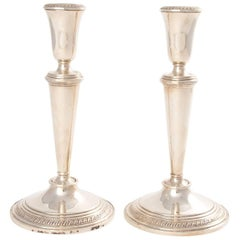 Poole Sterling Candlesticks
