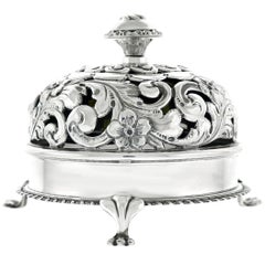 Antique Sterling Silver Bell, circa 1902, London