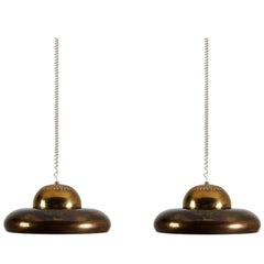 Two Flor di Loto Pendant Lamp by Afra & Tobia Scarpa for Flos