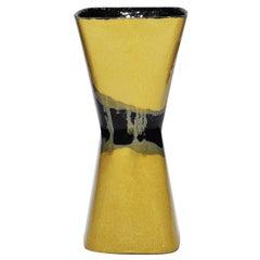 Clessidra Vase Yellow and Black
