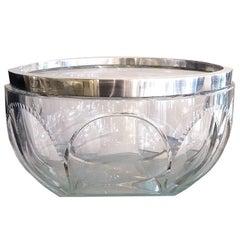 Art Deco Crystal Serveware
