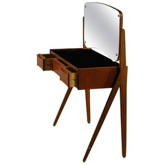 1950s Arne Vodder Teak Dressing Table