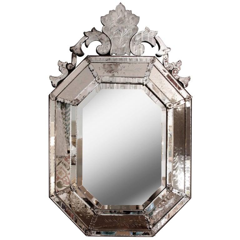 Antique Venetian Style Mirror
