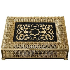 Gold Luxury Hinged Box