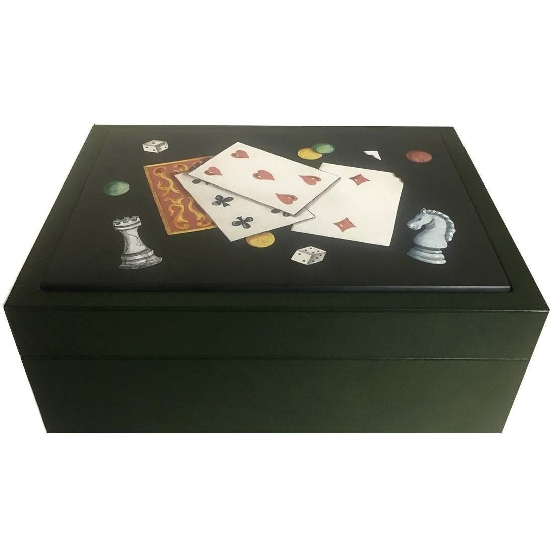 Luxury Playing Cards Box For Sale