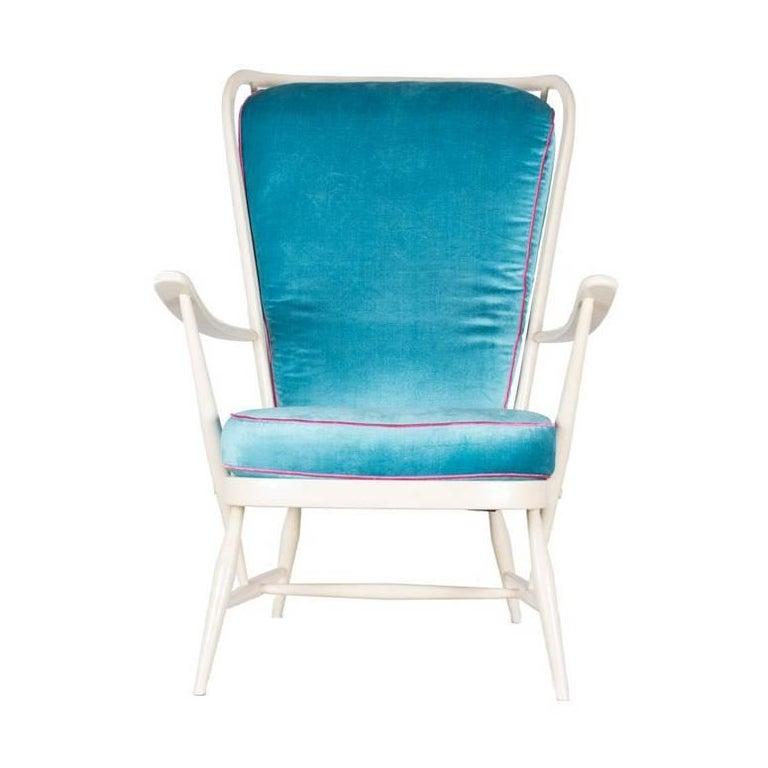 Windsor 478 Armchair by Ercol 1950s United Kingdom