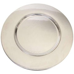 Georg Jensen, 12 Sterling Silver Hand-Hammered Plates