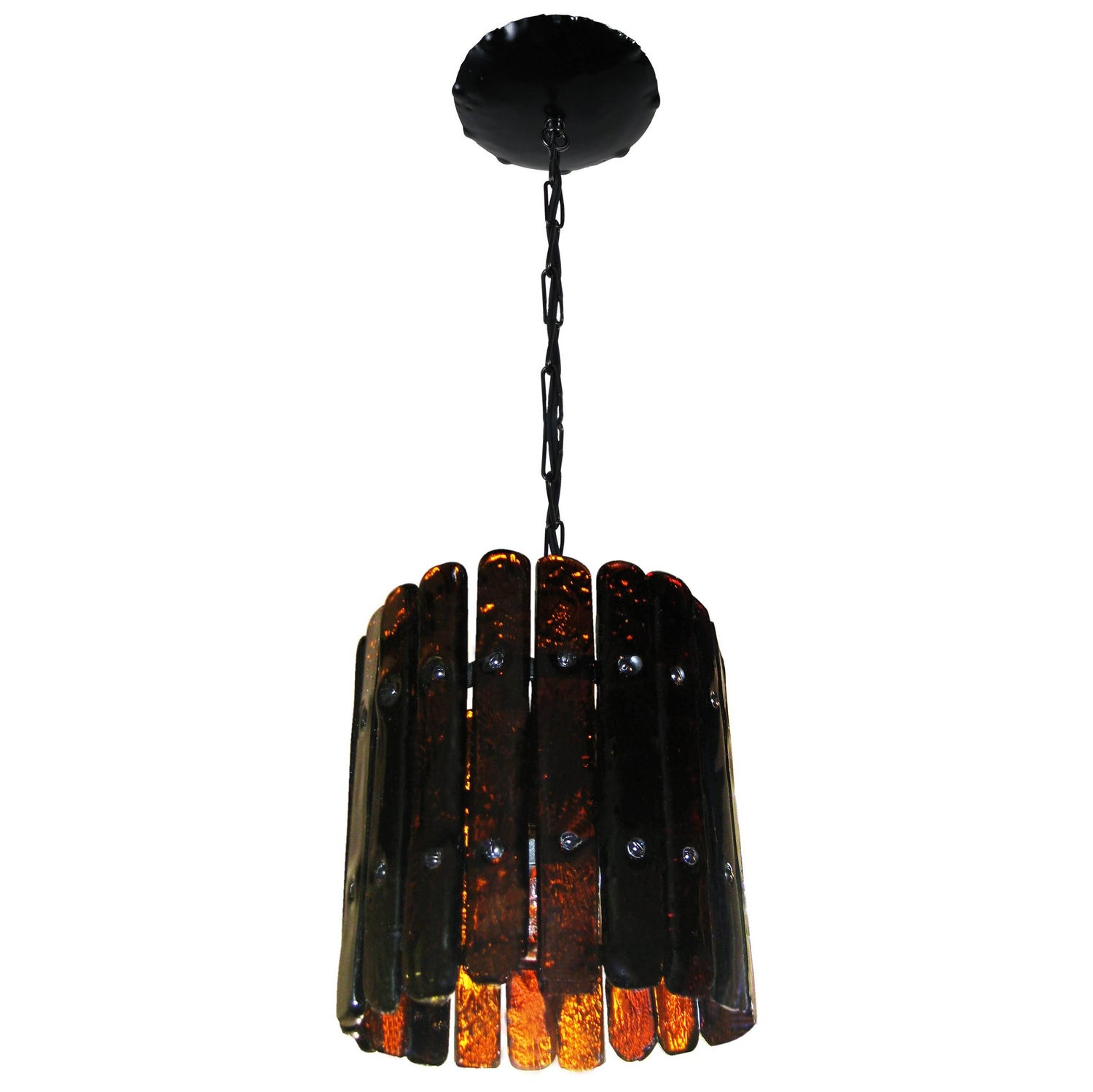Hanging chandelier by feders for sale at 1stdibs hanging lamp in glass and metal f derflingher for feders cuernavaca arubaitofo Images