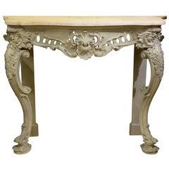 19th Century Rococo Console Table