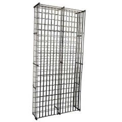 Monumental French Wine Cage in Iron