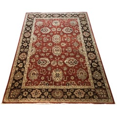 Hand knotted All-Over Floral Pakistani Rug