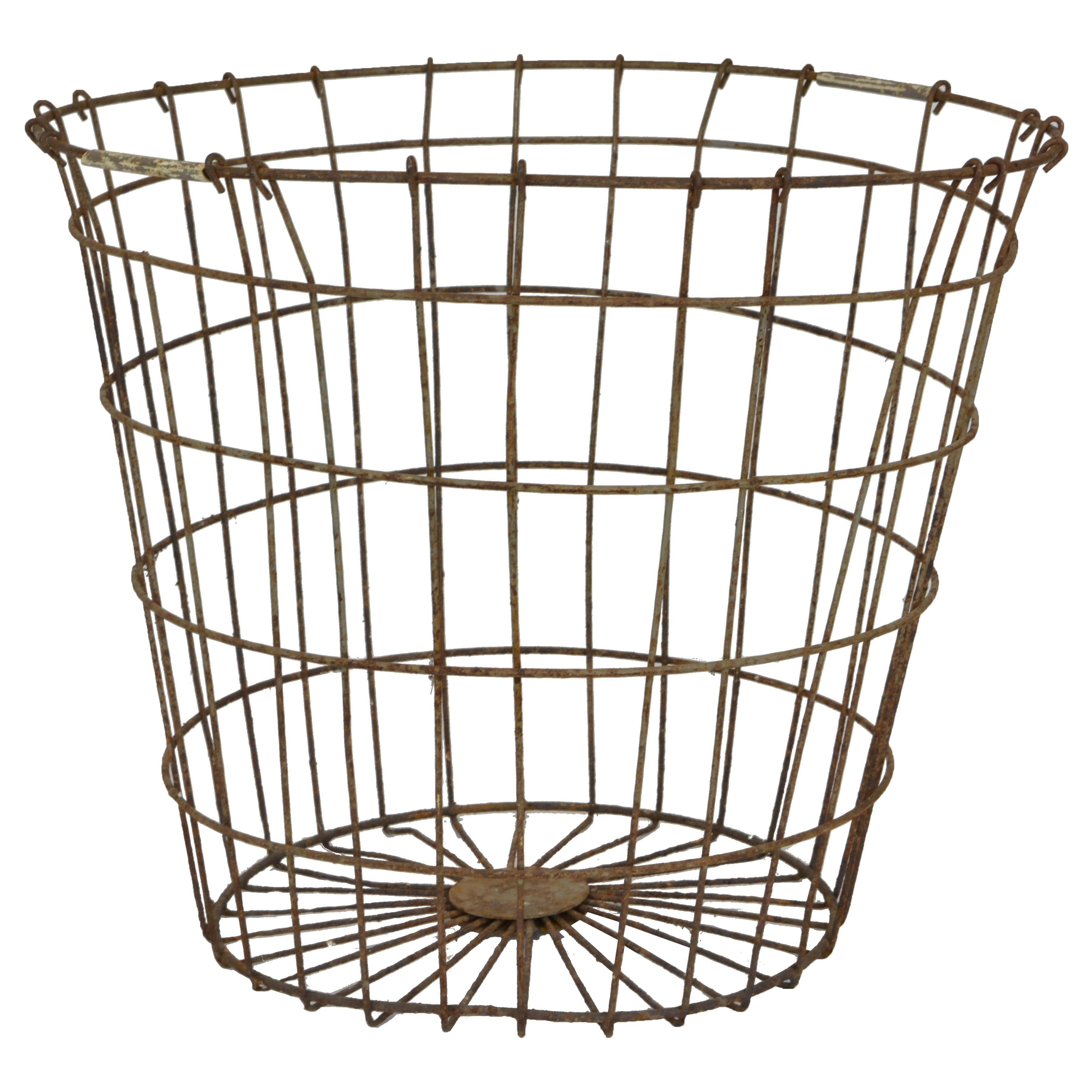 Vintage Farm Baskets For Sale at 1stdibs