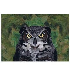 Owl Mosaic Tableau