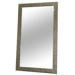 Ipe Cavalli Diamond Mirror Hand Carved Wood Frame