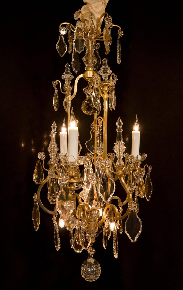 Sign By Baccarat French Louis Xvi Style Bronze And