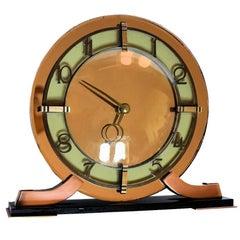 1930s Art Deco Modernist Clock by Smiths