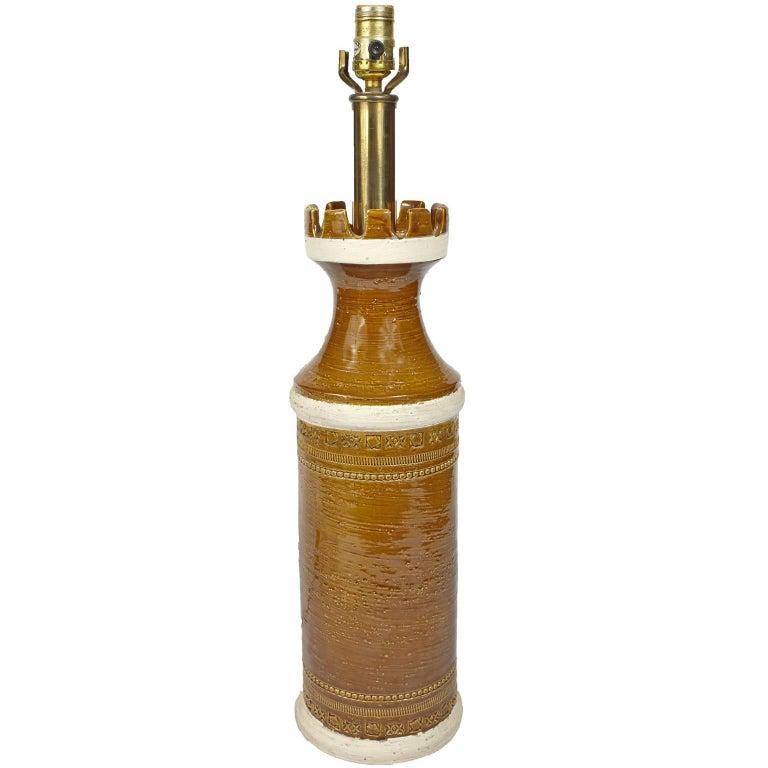 Bitossi Mid-Century Modern Italian Table Lamp