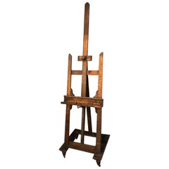 French Artists Easel, circa 1900