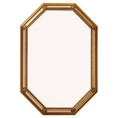 Beautiful Vintage French Regency Giltwood Wall Mirror, 1950s
