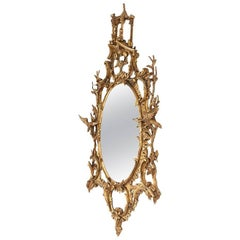 Early 20th Century Italian Chippendale Style Mirror