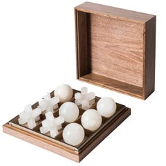Tris Box with Alabaster Pieces